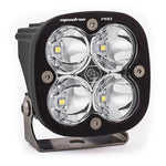 LED Light Pod Black Clear Lens Work/Scene Pattern Squadron Pro Baja Designs