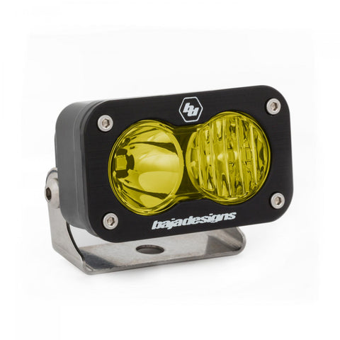 LED Work Light Amber Lens Driving Combo Pattern Each S2 Sport Baja Designs