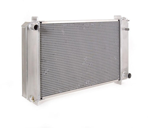 73-87 Chevrolet Truck Radiator for GM w/Std Trans Direct-Fit Natural Finish Be Cool Radiator