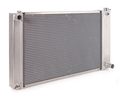 Radiator Direct-Fit Natural Finish for 88-99 Chevrolet/GM C/K 1500/2500/3500 Pickups w/Std Trans 34 Inch W Be Cool Radiator