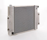 Radiator Direct-Fit Natural Finish for 70-86 Jeep CJ/Scrambler w/Std Trans Be Cool Radiator