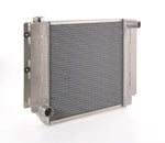 Radiator Direct-Fit Natural Finish for 87-04 Jeep Wrangler w/Std Trans Driver Water Pump Outlet Be Cool Radiator
