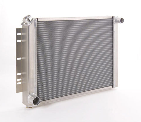 Radiator Direct-Fit Natural Finish for 60-88 Dodge A-Body/B-Body w/Std Trans Be Cool Radiator