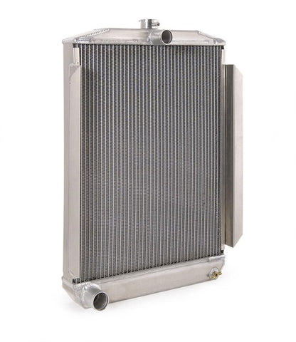 Downflow Radiator Direct-Fit Natural Finish for 53-56 Mercury M100/M250/M350 Pickup w/Std Trans Be Cool Radiator