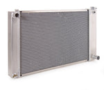Radiator Direct-Fit Polished Finish for 88-99 Chevrolet C/K 1500/2500/3500 Pickups w/Std Trans Be Cool Radiator