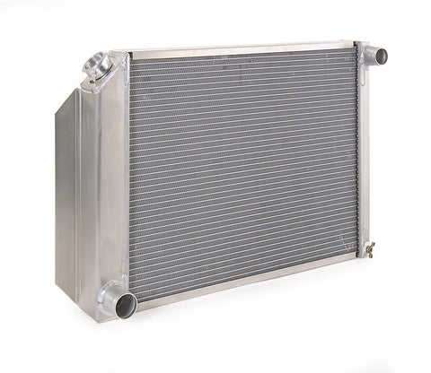 Radiator Direct-Fit Polished Finish for 71-82 Ford F100/F150/F250/F350 w/Std Trans Be Cool Radiator
