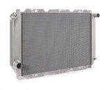 Radiator Direct-Fit Polished Finish for 80-84 Ford Bronco/F150/F250/F350 w/Std Trans Be Cool Radiator