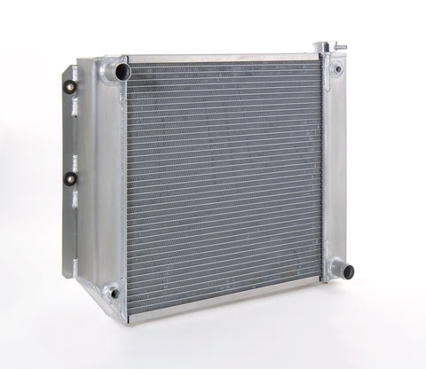 Radiator Direct-Fit Polished Finish for 87-04 Jeep Wrangler w/Std Trans LT-1 Be Cool Radiator