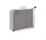 Radiator Direct-Fit Polished Finish for 84-94 Bronco 91-94 Explorer 82-94 Ford Ranger w/Std Trans Be Cool Radiator