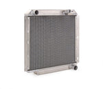Downflow Radiator Direct-Fit Polished Finish for 60-83 Toyota FJ40/FJ45 w/Std Trans Be Cool Radiator