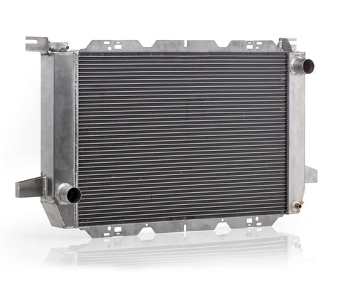 Radiator Direct-Fit Polished Finish for 85-95 Ford Bronco/F150 w/Std Trans Be Cool Radiator