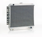 Downflow Radiator Direct-Fit Polished Finish for 72-92 Dodge Ram Pickup Truck w/Std Trans Be Cool Radiator