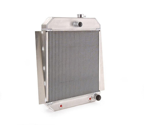 Downflow Radiator Direct-Fit Natural Finish for 47-54 Chevrolet 1/2, 3/4, 1 Ton Pickups w/Auto Trans Small Block Engines Be Cool Radiator