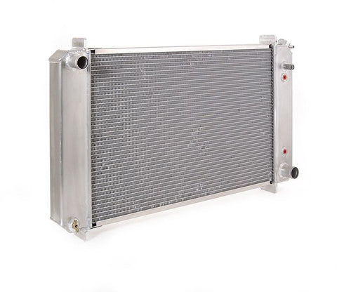 Radiator Direct-Fit Natural Finish for 73-87 Chevrolet C/K 1/2, 3/4, 1 Ton Pickups w/Auto Trans Be Cool Radiator