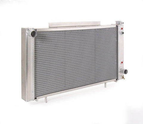 Radiator Direct-Fit Natural Finish for 82-93 S10 Pickup S10 Blazer S15 Pickup/S15 Blazer w/Auto Trans Be Cool Radiator