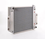 Radiator Direct-Fit Polished Finish for 70-86 Jeep CJ/Scrambler w/Auto Trans LT-1 Be Cool Radiator