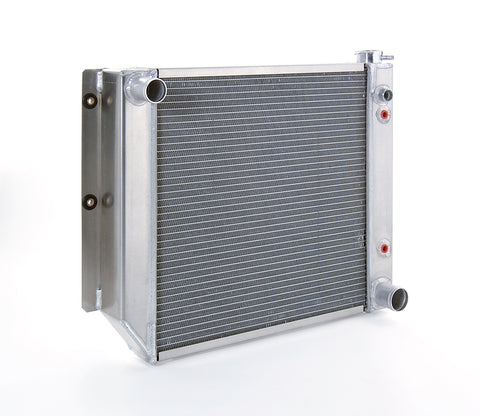 Radiator Direct-Fit Polished Finish for 87-04 Jeep Wrangler w/Auto Trans Passenger Water Pump Outlet Be Cool Radiator