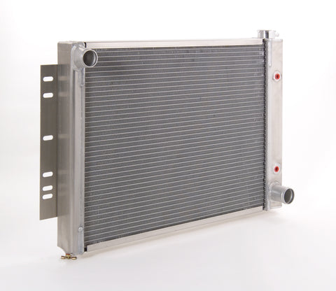 Radiator Direct-Fit Polished Finish for 59-70 Chevrolet Bel Air/Biscayne/Caprice/Impala w/Auto Trans Be Cool Radiator