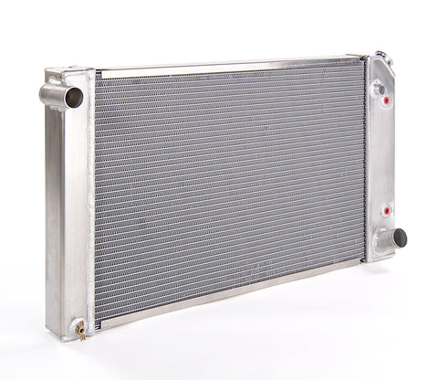 Radiator Direct-Fit Polished Finish for 67-72 Chevrolet/GM C/K 1/2, 3/4, 1 Ton Pickups w/Auto Trans Be Cool Radiator
