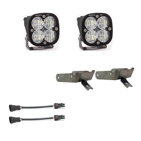 Super Duty Fog Lights Squadron Pro 99-10 Super Duty Fog Pocket Kit Baja Designs