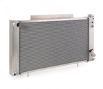 Radiator Direct-Fit Polished Finish for 82-93 S10 Pickup S10 Blazer S15 Pickup/S15 Jimmy w/Auto Trans Be Cool Radiator
