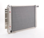 Radiator Direct-Fit Polished Finish for 74-88 Jeep J-Series 74-92 Jeep Wagoneer/Grand Wagoneer w/Auto Trans Be Cool Radiator