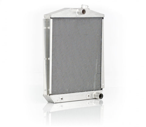 Downflow Radiator Direct-Fit Polished Finish for 47-54 Chevrolet 1/2, 3/4, 1 Ton Pickups/Suburban w/Auto Trans Be Cool Radiator