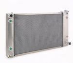 Radiator Direct-Fit Natural Finish for 88-99 Chevrolet/GM C/K 1500/2500/3500 Pickups w/Dual Coolers 34 Inch W Be Cool Radiator