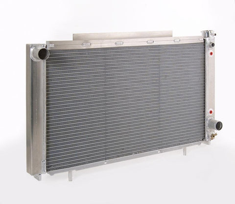 Conversion Series Natural Finish Radiator for 82-93 S10 Pickup/Sonoma Pickup w/Auto Trans Be Cool Radiator