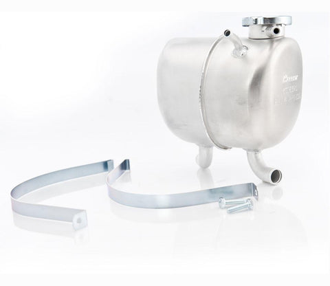 68-72 GM Surge Tank w/Cadmium Finish Cap and Mounting Strap Natural Finish Be Cool Radiator
