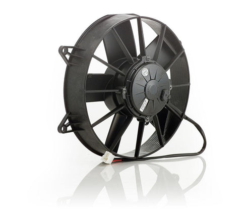 10 Inch Electric Puller Fan Euro Black High Torque Be Cool Radiator