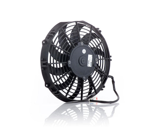 11 Inch Electric Puller Fan Euro Black Thin Line Be Cool Radiator