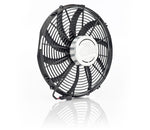 16 Inch Puller Fan w/Billet Cover Aluminator Euro Black Be Cool Radiator