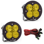 LED Light Pods Amber Lens Driving Combo Pattern Pair XL R 80 Series Baja Designs