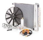 Radiator Module Direct-Fit Natural Finish for 71-82 Ford Truck w/Std Trans Be Cool Radiator