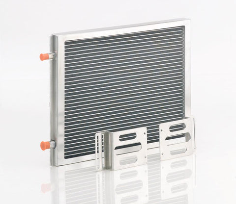 A/C Module w/Small Universal Condenser Natural Finish Be Cool Radiator