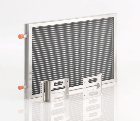 A/C Module w/Large Universal Condenser Natural Finish Be Cool Radiator