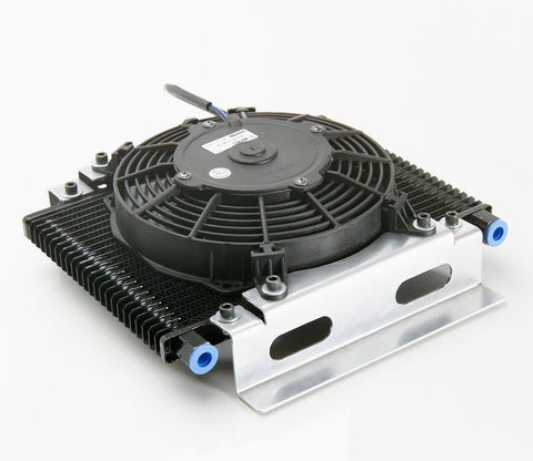 Transmission Cooler Module w/Electric Pusher Fan Be Cool Radiator