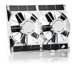 11 Inch High Torque Fan Module Dual Chrome Plated Be Cool Radiator