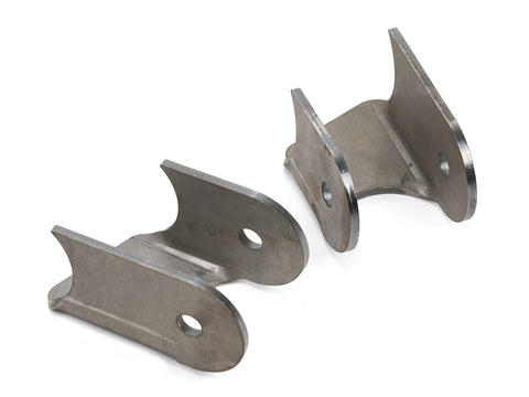 Jeep Lower Control Arm Brackets 20 Degree 76-06 Jeep TJ, LJ, YJ, CJ Front Or Rear Steel Bare Pair GenRight