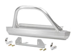 Jeep Winch Guard 87-95 Wrangler YJ Front Bumper Aluminum Bare GenRight