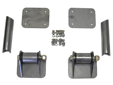 Jeep Cage Tie-In Kit 76-06 Jeep TJ, LJ, YJ, CJ Steel Bare GenRight