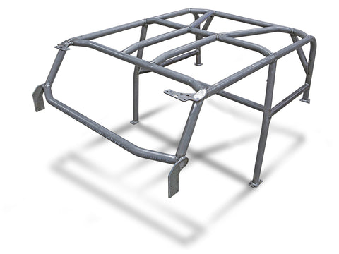 Jeep Roll Cage Kit Full Laser Notched 07-Pres Wrangler JK 2 Door Steel Bare GenRight