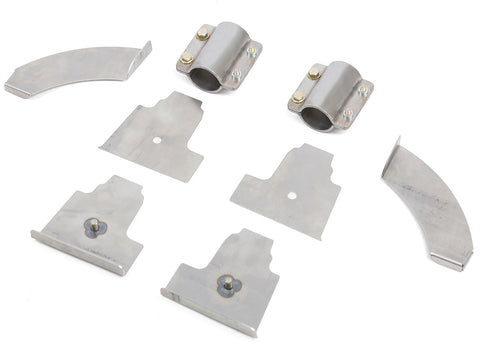 Jeep B-Pillar Kit Detachable 07-Pres Wrangler JK, JKU Steel Bare  GenRight