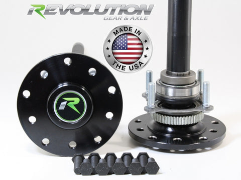 07-18 Jeep JK X and Sahara Discovery Series 4140 Chromoly Rear Axle Kit 30  Spline Revolution Gear