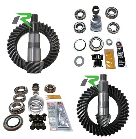 JL Non-Rubicon D44/D30R 5.13 Ratio Gear Package (220MM-186MM) Revolution Gear