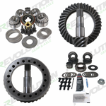 Jeep TJ and 1996-04 Grand Cherokee 4.10 Ratio Gear Package (D35-D30) with Timken Bearings Revolution Gear and Axle