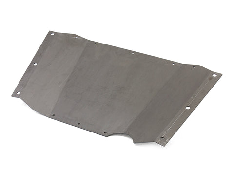Jeep Skid Plate Belly Up 97-06 Wrangler TJ .250 Thick Steel Bare GenRight
