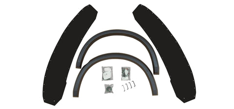 AEV Highmark Fender Flare Set - Rear w/ Ram Box