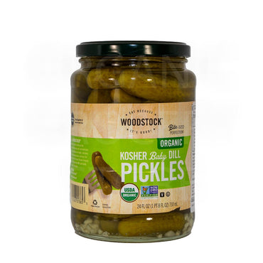 WOODSTOCK BABY PICKLES 710ML